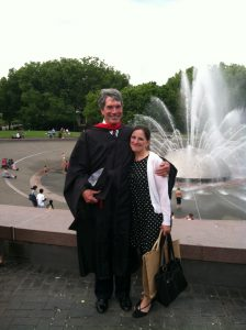 Photo Neil and Patty SU Graduation